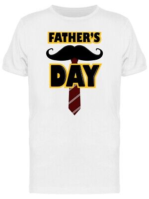 Fathers Day With A Tie Tee Mens -Image by Shutterstock
