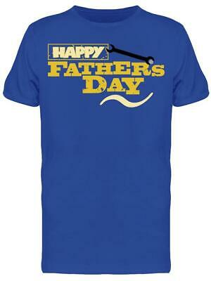 Happy Fathers Day  Graphic Tee Mens -Image by Shutterstock