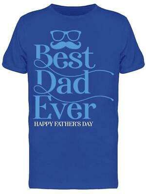 Happy Fathers Day Typography -  Tee Mens -Image by Shutterstock