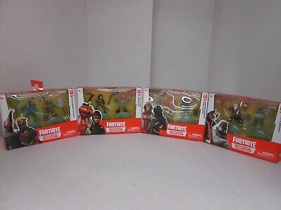 4 FORTNITE BATTLE ROYALE COLLECTION FIGURES DUO PACK AP 1696