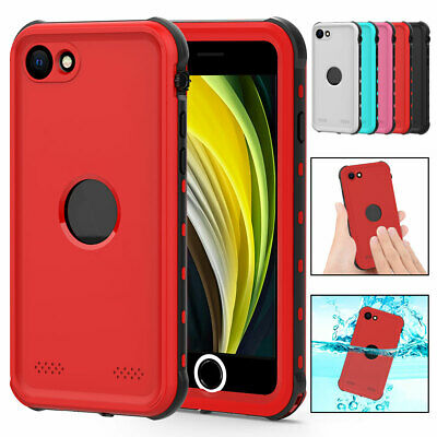 For Apple iPhone 7 8 SE 2 Shockproof Waterproof Case with Screen Protector Cover