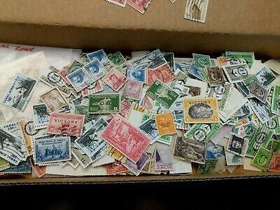 15 US Canal Zone Possessions Philippines Commonwealth Stamps Lot Collection