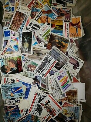 US UsedCanceled Postage Stamps  Set of 50 Different 22c - 29c Large Stamps