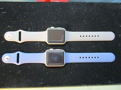 2 authentic APPLE series 1 Watches- clean need battery