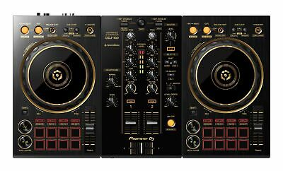 Pioneer DDJ-400-N Limited Edition 2 Channel DJ Controller wGold Accents
