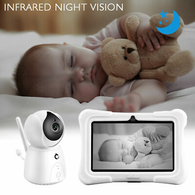 2-4GHz Wireless Baby Monitor Camera Digital LCD Night Vision Video Refurbished