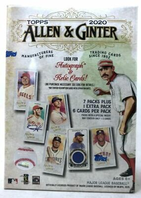 Topps 2020 Allen - Ginter Blaster Box - Factory sealed