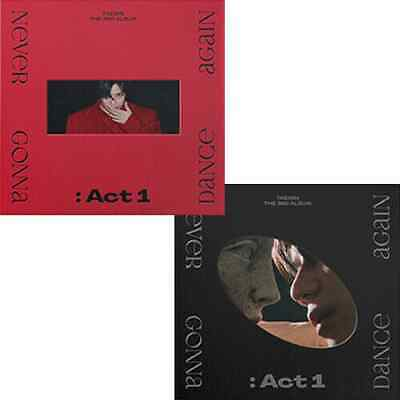 US SHIPPING Taemin-NEVER GONNA DANCE AGAINACT 13rd Regular Album CD-Poster