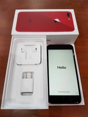 MINT A++ iPhone 8 Plus A1864 64GB Red Unlocked for International GSM/CDMA