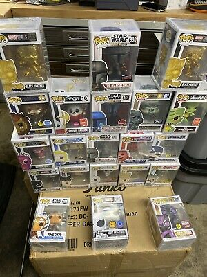 50 Funko Pop Mystery lot Guarantee Value- Chase And Exclusive Pops Only-
