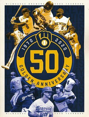 2020 Milwaukee Brewers Yearbook - Shipped in a Box
