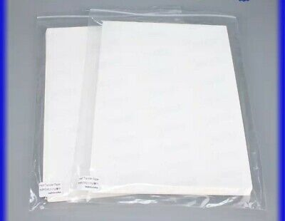 Sheets for polyamide powder Sublimation on cotton- Pack 100 sheets- A4