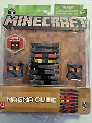 Minecraft Series 4 Magma Cube Action Figure- 3