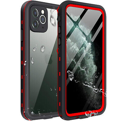 For Apple iPhone 11 Pro Max Waterproof Case Cover wBuilt-in Screen Protector 11