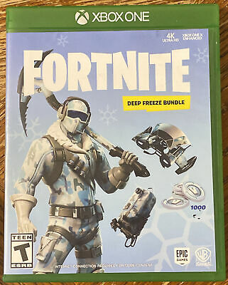 XBOX ONEFORTNITE DEEP FREEZE BUNDLE2018 Excellent Condition