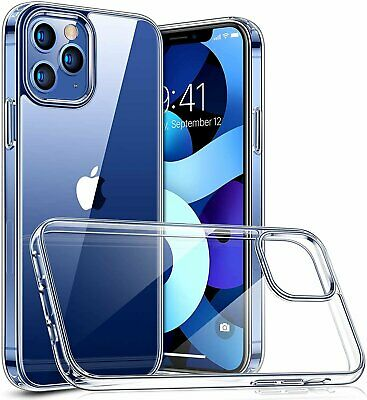 For iPhone 11  12 Mini  12 Pro Max Clear Soft Case Shockproof Protective Cover