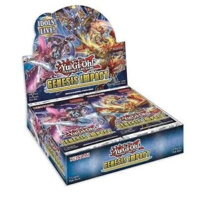 Yugioh Genesis Impact Booster Box 1st Edition 24 Packs IN HAND