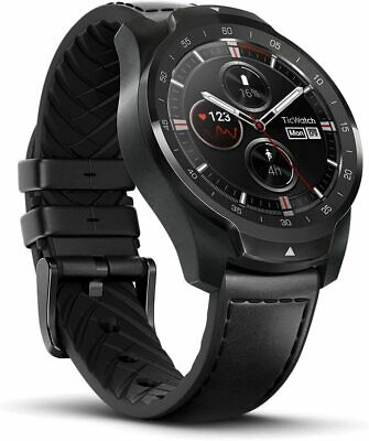 Ticwatch Pro Fitness GPS Smartwatch 45mm OLED Layer Display Wear OS by Google
