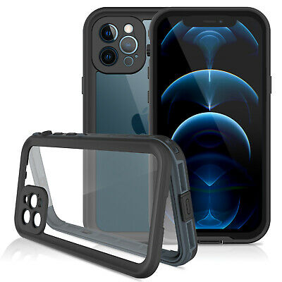 For Apple iPhone 12 12 Pro Max Case Waterproof Shockproof with Screen Protector