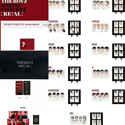 THE BOYZ 2020 ONLINE CONCERT RE:AL IN SEOUL OFFICIAL MD (SELECT) [KPOPPIN USA]
