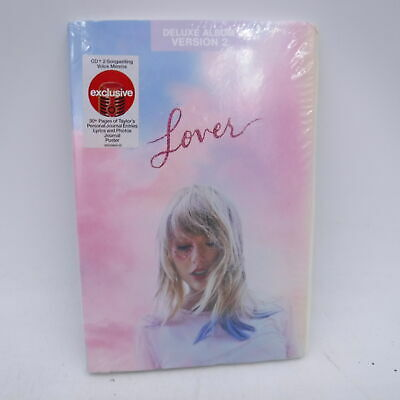 TAYLOR SWIFT Lover CD Deluxe Version Sealed NEW w30- pages of Taylors Journal