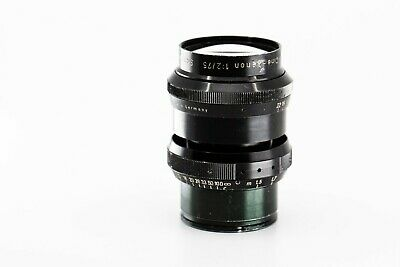 schneider cine xenon 75mm f2.0 arri mount arriflex 35mm coverage