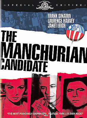 THE MANCHURIAN CANDIDATE Special Edition DVD Frank Sinatra Janet Leigh New