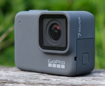 Refurbished GoPro HERO 7 Silver Action Camcorder 4K Ultra HD Camera Touch Screen