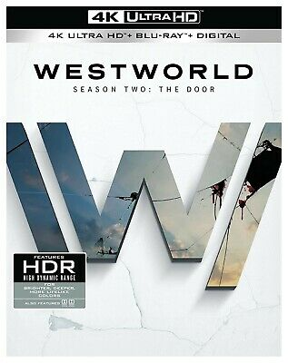 Westworld Season 2 The Door Box Set 4K UHD-Blu-ray-Digital Factory Sealed