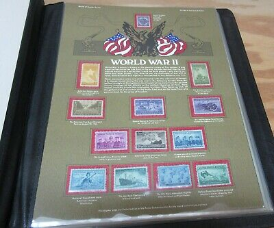 VINTAGE Postal Commemorative Society WORLD OF STAMPS 18 sheets