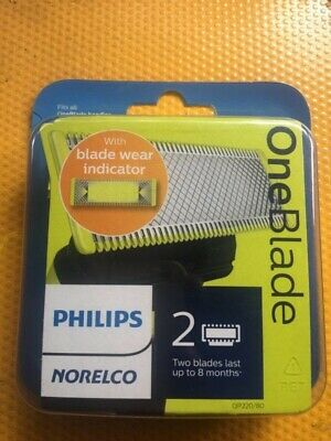 Philips Norelco OneBlade Replacement blade 2 PackQP22080 - New