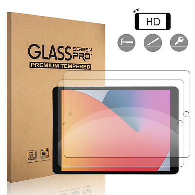 For iPad 10-2 inch 8th GenerationAir 4th Gen HD Tempered Glass Screen Protector
