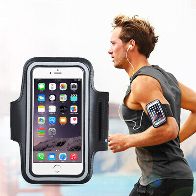 For iPhone 12 Pro 6-1 Inch Sports Armband Running Case Phone Holder Black