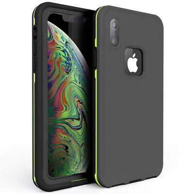 For Apple iPhone XR Waterproof Case Xs Max Shockproof Built-in screen protector