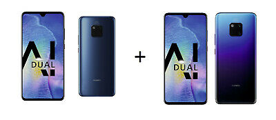 TOP PREIS! 2x HUAWEI Attrappen Mate 20 + Mate 20 Pro Smartphone Dummy - Requisit