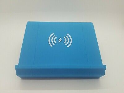 Nightstand Wireless Phone Charger and Bluetooth Speaker Blue WM-SWC-001