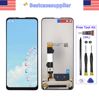For Motorola Moto One 5G 2020 LCD Display Glass Touch Screen Digitizer Assembly