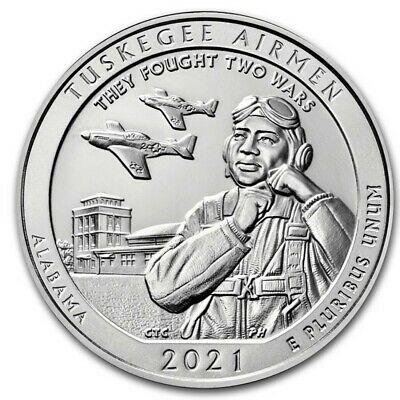 2021 5 oz Silver ATB Tuskegee Airmen National Historic Site AL - IN STOCK