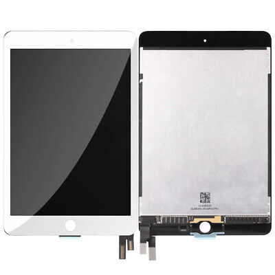 For Apple iPad Mini4 2015 A1538 A1550 LCD Display Touch Screen Digitizer White