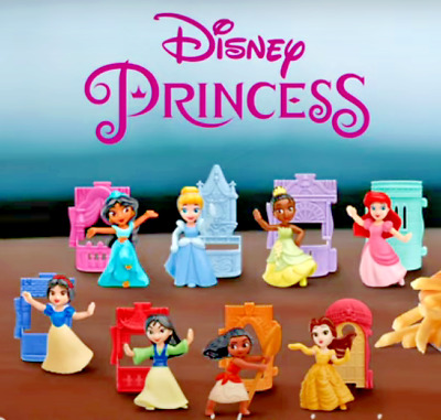 PICK 4 OR MORE FOR 5-25 EACH McDONALDS 2021 DISNEY PRINCESS HAPPY MEAL TOYS