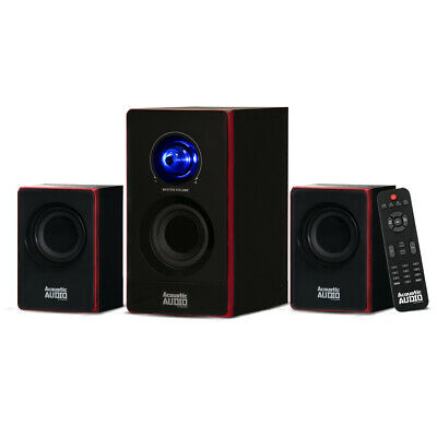 Acoustic Audio Bluetooth Home 2-1 Speaker System for Multimedia Laptop Computer