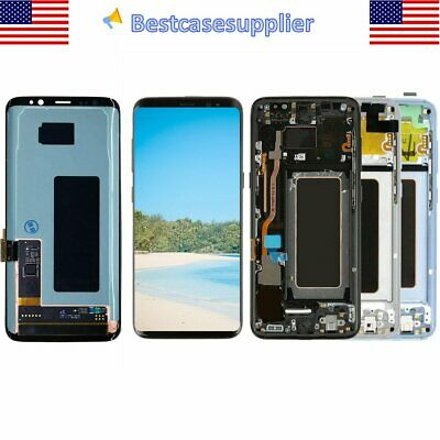 OEM LCD Display Touch Screen Digitizer Frame For Samsung Galaxy S8 SM-G950UU1
