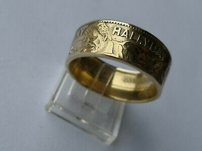 Bague Johnny Hallyday coin ring