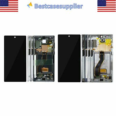 For Samsung Galaxy Note 10  10- Plus LCD Replacement Screen Digitizer Frame OEM