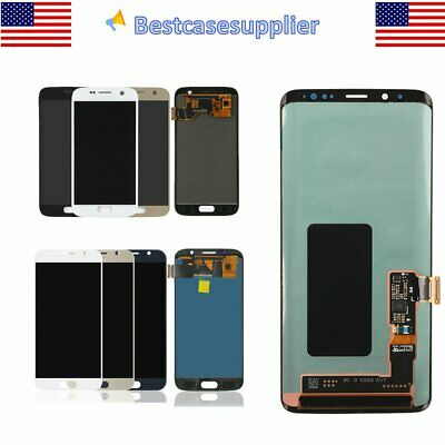 For Samsung Galaxy S9- S9 S8 S8- S7 S6 LCD Display Glass Touch Screen Digitizer