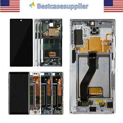 OEM LCD Display Touch Screen Digitizer Frame For Samsung Note9 Note10 Note10- QC