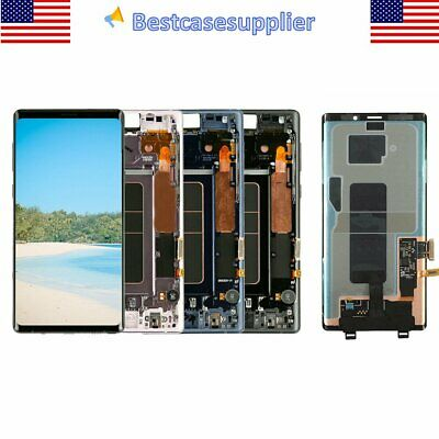 OEM LCD Display Touch Screen Digitizer Frame For Samsung Galaxy Note 9 SM-N960