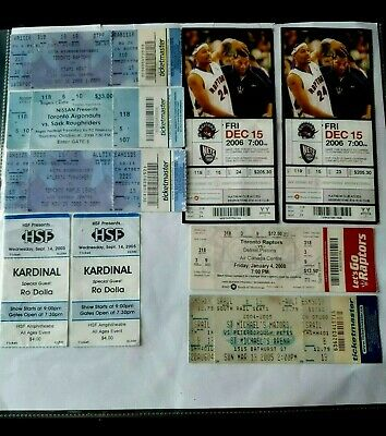 Mixed Basket ball tickets