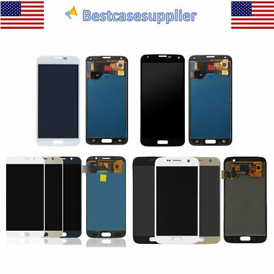 For Samsung Galaxy S7  S6  S5 LCD Display Touch Screen Digitizer Replacement