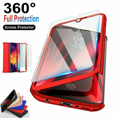 For Samsung Galaxy S9S7S8S10S21 360° Full Body Hard Case - Screen Protector